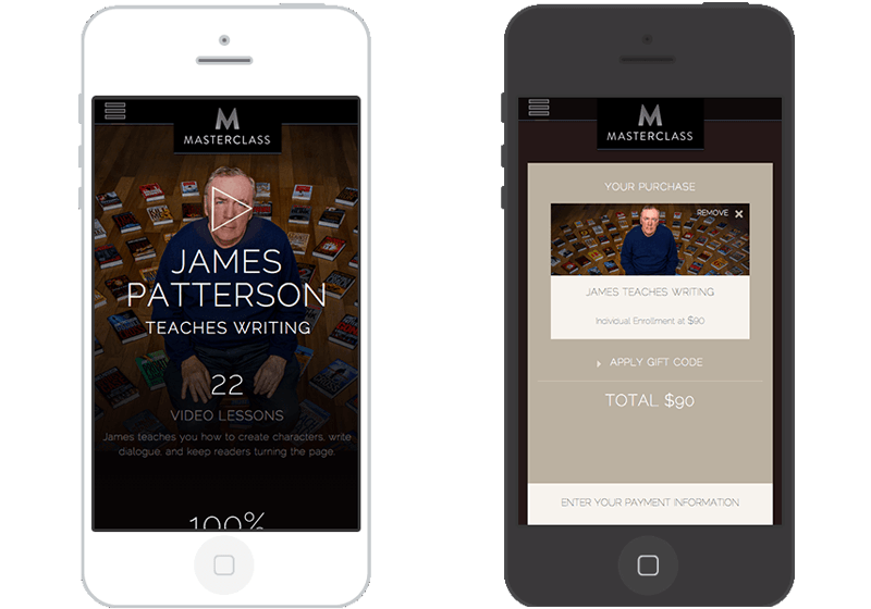 Masterclass Mobile Experience