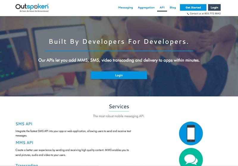 Outspoken developer's page